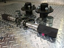 "TRAILER AXLE KIT - 3.5K, 3500 lb, Idler, 5 on 4.5"",SQUARE Spindles Build An Axle"