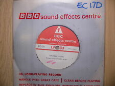 "BBC Sound Effects 7"" Record - Suburban Traffic, Small Town Main Street, EC17D"