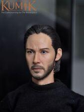 "12"" Figure Toy Kumik Male Man Boy Keanu Reeves John Wick Head Painted KUMIK15-5"