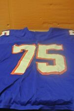 Boise State Blue Game Used Football Jersey Size 49 #75