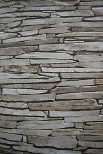 Stone Effect Wallpaper Thin Stone Slate rrp£15