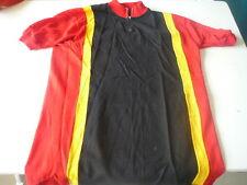 maillot de vélo vintage rouge,noir,jaune,Ti-Raleigh? 72cm sur 50cm