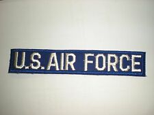 1960'S ERA EMBROIDERED USAF POCKET TAPE- COLOR