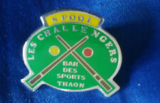 PINS RARE SPORT BILLARD LES CHALLENGERS THAON VOSGES POOL ROOM