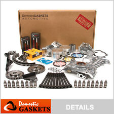 Fit 91-93 Nissan NX Sentra Infiniti G20 2.0L Master Overhaul Engine Kit SR20DE