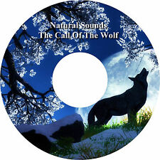 Natural Sounds The Call of the Wolf Wolves CD Relaxation Spiritual Stress Relief