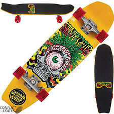 "SANTA CRUZ ""TRIBE Cruzer"" COMPLETO Skateboard Ruote GU 31 ""X 8.5"" CRUISER"