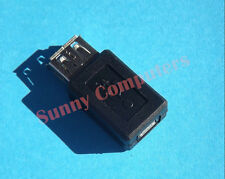 USB 2.0 Type-A Female Jack to Micro USB 5pin Female Plug F/F Adapter Connector