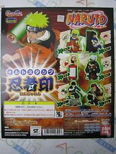 Anime Comic Naruto Stamp Part 1 Gashapon Toy Machine Paper Card Bandai Japan