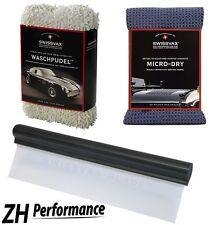 SWIZÖL SWISSVAX Car Wash Kit Profi-Set mit Waschpudel, Micro Dry, Hydralip