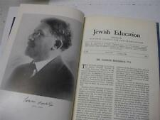 Dr. Samson Benderly, leader in American Jewish education   A memorial volume