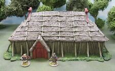 28MM 'CHIEF'S HALL' - DARK AGE - RESIN CASTING - Painted to collectors standard.