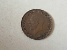 Pièce monnaie coin munt 1935 - 1 penny Grande Bretagne - George V- Great Britain