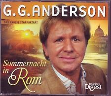 G. G. Anderson - Sommernacht in Rom -   Reader's Digest 3 CD  Box
