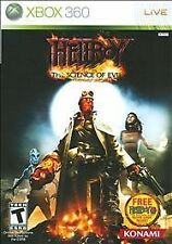 Hellboy: The Science of Evil (Microsoft Xbox 360, 2008) GOOD