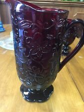 PRINCESS HOUSE FANTASIA RUBY RED Pitcher