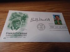 Billy Maxwell Signed First Day Cover w/COA
