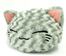 Nemuneko 12'' Super Fuzzy Gray Cat Prize Plush NEW