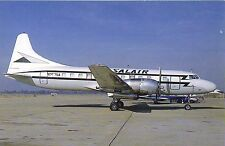 Salair Convair 440-0 (F)Metropolitan N-357SA at Oakland California 1989 Postcard