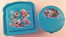 Disney Frozen sandwich & snack size lunch containers NEW
