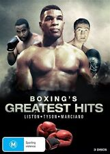 Boxing's Greatest Hits (Liston / Tyson / Marciano) DVD NEW