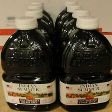 Indian Summer Tart Cherry Juice 46 oz each. 8 pk. total 368 ounces