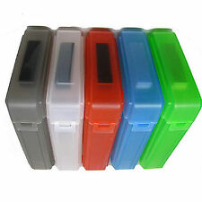 "5x Durable 3.5"" Hard Drive Disk HDD Case SATA IDE Plastic Storage Container Box"