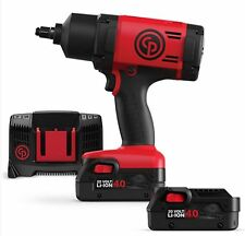 "Chicago Pneumatic 1/2"" 20V Cordless Impact Wrench Kit  775 Ftlbs 4.0AH- CP8848"