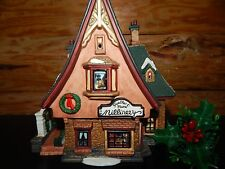 2000 Santa's Workbench Victorian FEATHER & PLUME MILLINERY Porcelain House