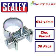 Sealey Mini Hose Clip Ø12-14mm Pack of 30 - MHC1214