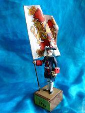 Très rare porte-drapeau espagnol 1735 de l'ancien régime.