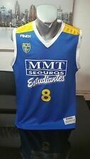 CAMISETA SHORT VINTAGE ACB BASKETBALL AND 1 ESTUDIANTES DORSAL 8 TALLA L