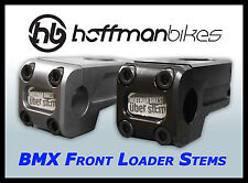 Hoffman Bikes BMX parts Front Load Uber Stem 49mm Grey *lightweight*