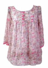 BNWT Sweet Floral Ruffle Summer Top Blouse Size 10