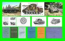 COLLECTION - CARRO ARMATO M4 SHERMAN E DERIVATI ARMOURED TANK Manual - DVD