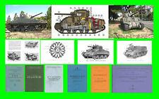 COLLECTION - CARRO ARMATO M4 SHERMAN E DERIVATI ARMOURED TANK Manual - DVD