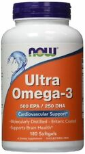 NOW Foods  Ultra Omega-3 180 Sgels  (same day ship)