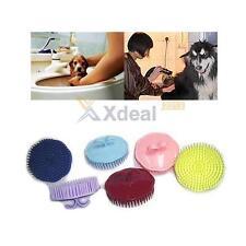 Pet Puppy Hair Shampoo Scalp Body Massage Cleanning Brush Dog Cat Massager Comb