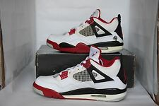 Nike Air Jordan IV 4 Retro Size 9.5 Used Spike Lee Mars Blackmon 2006 Supreme