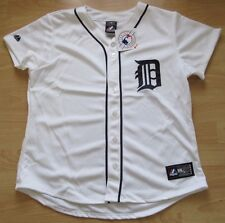 MAJESTIC DETROIT TIGERS HOME JERSEY SIZE WOMENS LARGE