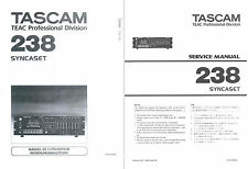 Tascam 238 Service & User Manual