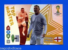 # ADRENALYN XL BRASIL 2014 TOP MASTER - Figurina-Sticker - WAYNE ROONEY