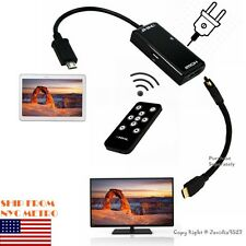 1080P MHL HDMI HDTV Remote Control Adapter Cable for Samsung Galaxy Note 3 N9000