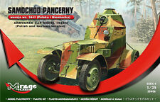 WZ 34 ARMOURED CAR (POLISH & GERMAN WEHRMACHT MKGS) 1/35 MIRAGE