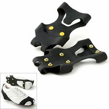 Snow Grabbers Steel Studded Grip Soles Ice Slip On Shoes Boots Protocol Walking