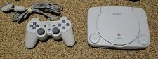 Sony PSOne PS1 PSX Launch Edition White Console and controller! Tested Clean!