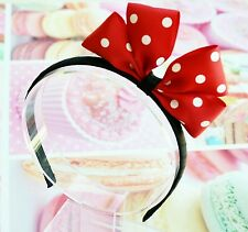 Minnie Mouse Inspired Headband Girls Hair Accessories