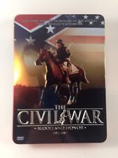 The Civil War: Collectors Edition In Tin 3 DVDs Blood and Honor