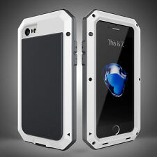 Shockproof Aluminum Gorilla Glass Metal Case Cover For iPhone 7 7 Plus 6S Plus