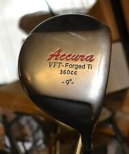 Accura VFT Forged Ti 360cc 9 Degree Driver Grafalloy Graphite Shaft